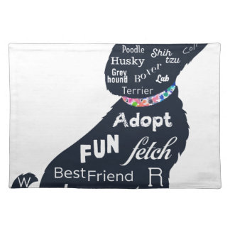 Blue Dog Placemat