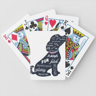 Blue Dog Poker Deck