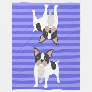 Blue Dogs Fleece Blanket