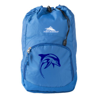 Blue dolphin backpack