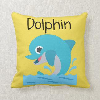 Blue Dolphin Cushion