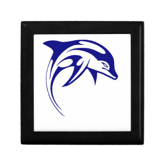 Blue Dolphin Gift Box