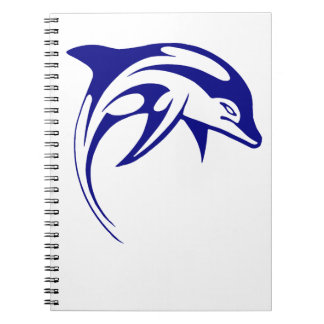 Blue Dolphin Notebook
