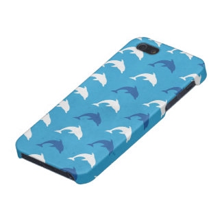 Blue dolphins covers for iPhone 5