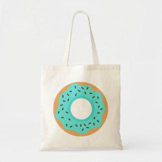 Blue Donut Tote Bag