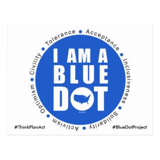 Blue Dot Project USA Postcard