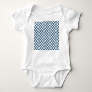 Blue dots baby bodysuit