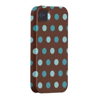 Blue Dots  iPhone 4 Case-Mate