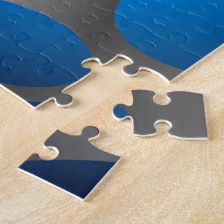 Blue dots puzzles