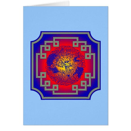 Blue Dragon Card