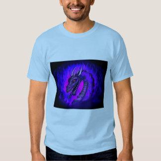 Blue Dragon Fire Shirts