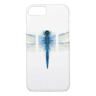 Blue dragon fly iPhone 7 case