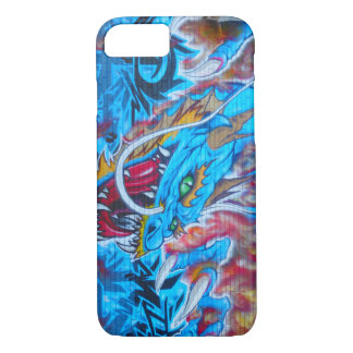 Blue Dragon iPhone 7 Case