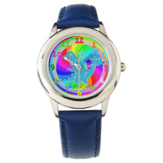 Blue Dragon Kids Watch custom Boy Name Jonathan