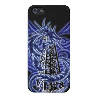 Blue Dragon OilField iPhone Case iPhone 5 Case