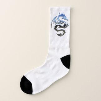 Blue Dragon Socks 1