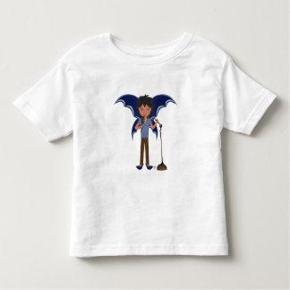 Blue Dragon Winged Musical Boy Faerie Toddler T-Shirt