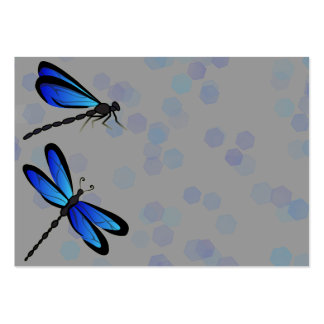 blue dragonflies pack of chubby business cards