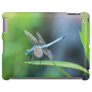 Blue Dragonfly iPad or Phone Case