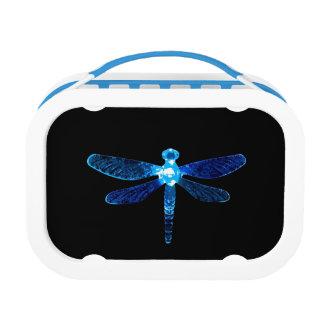 Blue Dragonfly Lunchbox
