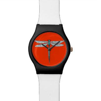 blue dragonfly watch