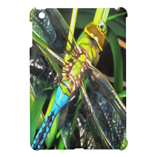 Blue Dragonfly Wings Case For The iPad Mini