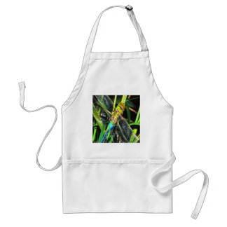 Blue Dragonfly Wings Standard Apron