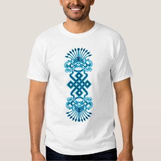 Blue Dragons and Tibetan Knot Shirt