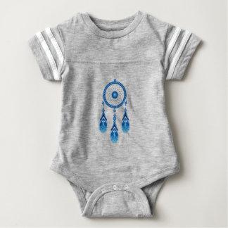 Blue Dreamcatcher Baby Bodysuit
