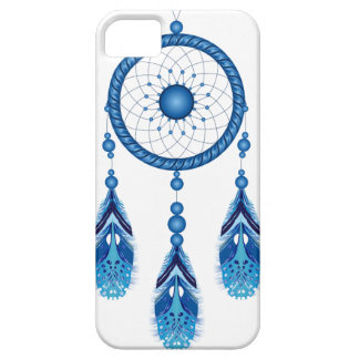 Blue Dreamcatcher Case For The iPhone 5