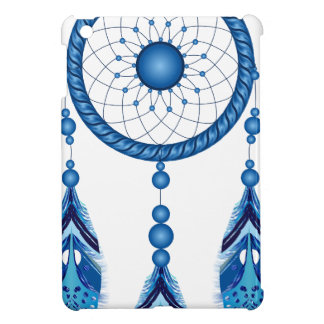 Blue Dreamcatcher iPad Mini Cases