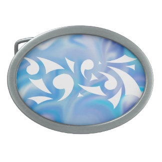 Blue Dreams Belt Buckle