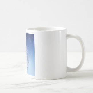 blue drop coffee mug