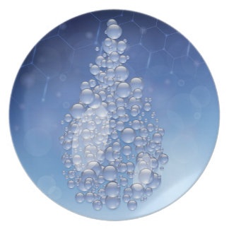 blue drop plate