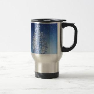 blue drop travel mug