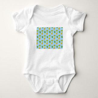blue durians baby bodysuit