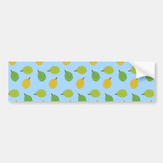 blue durians bumper sticker