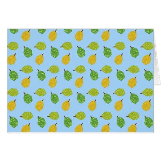 blue durians card
