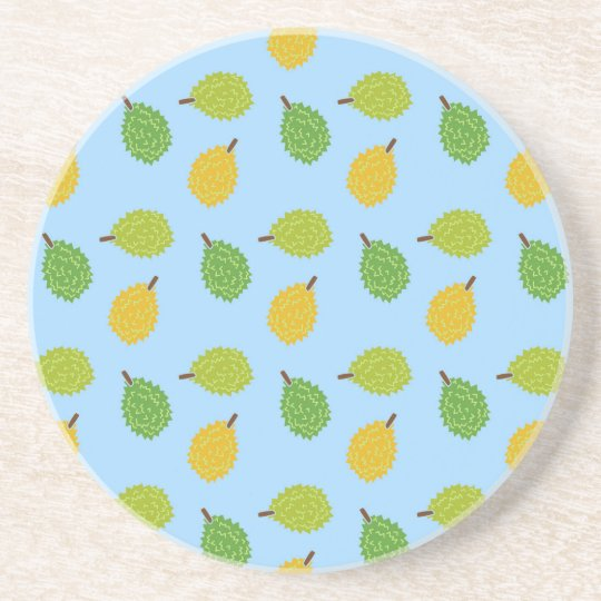 blue durians drink coaster