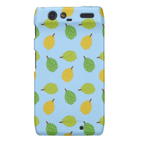 blue durians motorola droid RAZR case