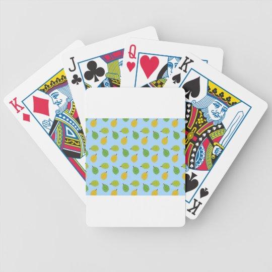 blue durians poker deck
