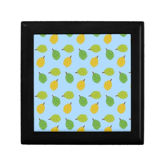 blue durians small square gift box