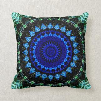 Blue Dwarf Mandala Cushion