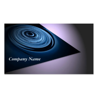 Blue Dynamic Pack Of Standard Business Cards