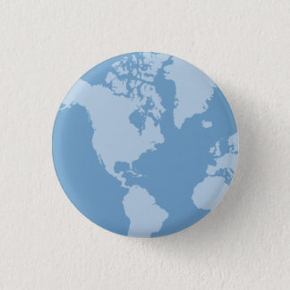 Blue Earth Button