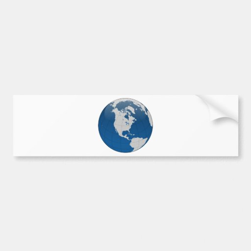 Blue Earth High Quality Print Bumper Stickers