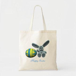 Blue Easter Bunny Bag