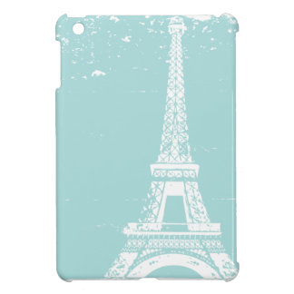 Blue Eiffel Tower ipad Mini Case
