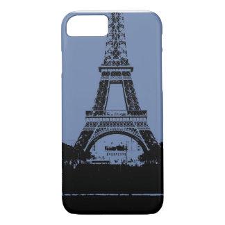 Blue Eiffel Tower Phone Case
