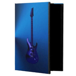 Blue Electric Guitar Monogram iPad Air Case